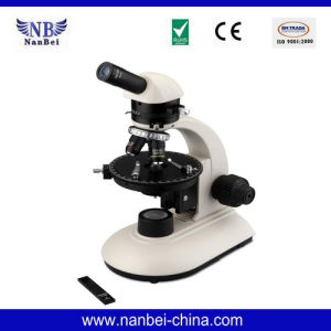Nb-Pol Monocular Polarizing Microscope for School pictures & photos