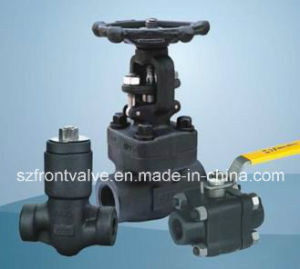 Forged Steel Fnpt or Sw Gate Valves pictures & photos