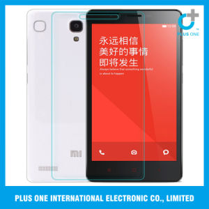 Anti Shock Transparency Tempered Glass Screen Protector for Redmi Note pictures & photos