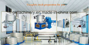 50 T/D Waste Paper Repulping Recycle Paper Stock Preparation Line pictures & photos