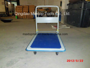 Four Wheels Heavy Duty Folding Platform Hand Truck (pH300) pictures & photos