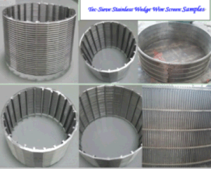 Tec-Sieve Stainless Steel Wedge Wire Cylindrical Screen pictures & photos