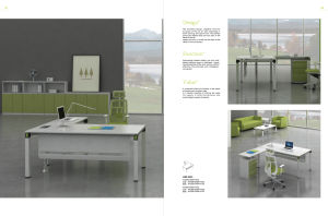 New Design Office CEO Desk (HY-503)