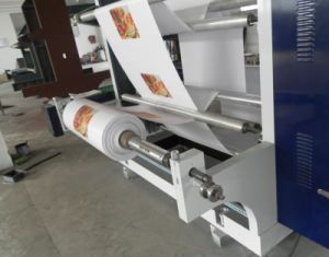 Six Colour High Precision Flexographic Printing Machine with 6 Colors pictures & photos