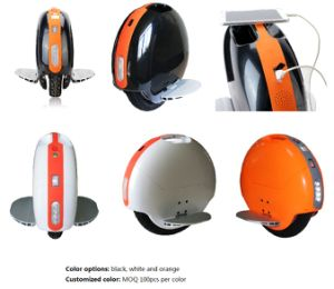 350W 60V Unicycle with Power Bank One Wheel Electric Unicycle pictures & photos