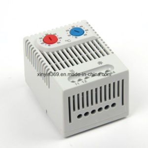 DIN Rail Mechanical Thermostat, Temperature Controller Thermostat 110V for Cabinet Use pictures & photos