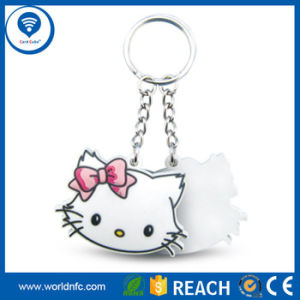 13.56MHz Top Selling Ntag213/Ntag 215/Ntag 216 RFID NFC Key Fobs RFID Keychain pictures & photos