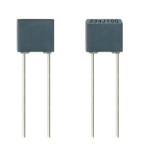 100V 334j Metallized Polyester Film Capacitor