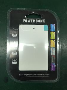Customized Ultra Slim Credit Card USB Cable Power Bank (PB-J26) pictures & photos