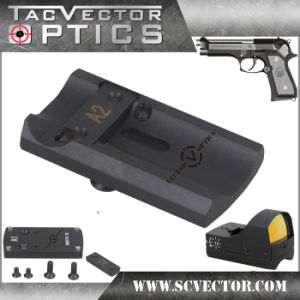 Vector Optics Full Metal Tactical Slide Scope Mount Base with Screw and Plate for Beretta 92 Pistol Gun Accessories pictures & photos