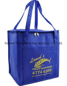 Promotional Custom Non-Woven Insulated Cooler Tote Bag pictures & photos