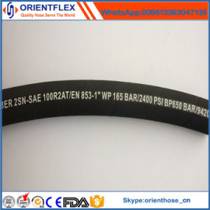 Cheap Rubber Hydraulic Tube (SAE100 R2) pictures & photos