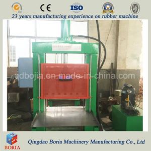 Single-Knife Hydraulic Rubber Cutting Machine Rubber Cutter Machine pictures & photos
