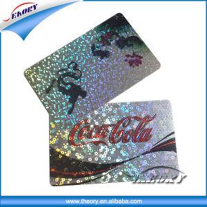 2016 Hot Sale Customized Plastic Hologram Card Membership Card Plastic PVC Laser Card pictures & photos