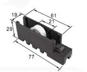 Wear-Resisting Roller R8234 for Aluminum Door & Window pictures & photos