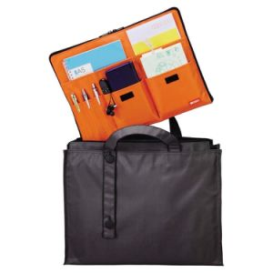 A4 B4 Customized Oxford Office Stationery Zipper Document Carry Bags pictures & photos