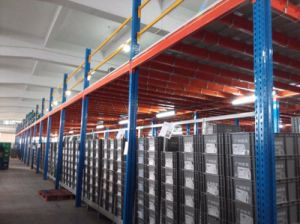 Customized Rack Heavy Steel Mezzanine Racking pictures & photos