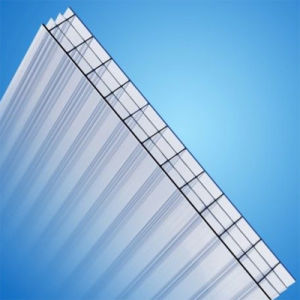 Anti-Fog UV Protected Four-Wall Hollow Polycarbonate Sheet for Roofing pictures & photos