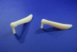 Yellow Medical Silicone Nasal Prosthesis pictures & photos