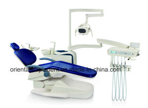 CE Approved Dental Chair Unit with LED Sensor Light Lamp pictures & photos
