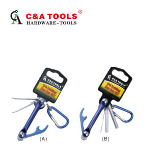 Folding Hex Key Set pictures & photos