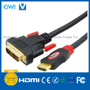 Overmolding 19pin Plug-DVI Plug Digital Cable pictures & photos