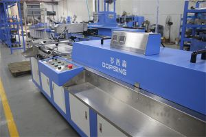 Label Ribbons/Satin Label Automatic Screen Printing Machine for Sale pictures & photos