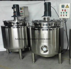 500 Liter Stainless Steel Liquid Blending Mixer Tank pictures & photos