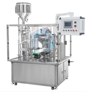 Rotary Cup Filling and Sealing Packing Machine (VR-2) pictures & photos