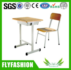 High Quality Single Student Desk with Chair (SF-03S) pictures & photos