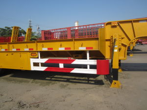 Sinotruk Widely Used Skeleton Semi-Trailer with 20-50FT Optional pictures & photos