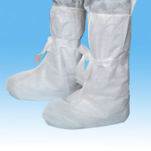 Disposable Anti-Skid Boot Cover for Industry Use pictures & photos