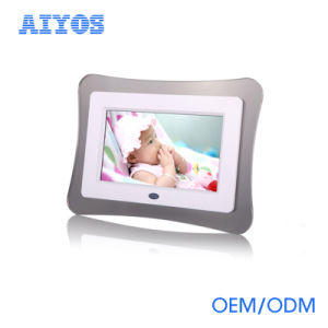 LCD Ad Player Digital Picture Photo Frame for Promotional Gift pictures & photos