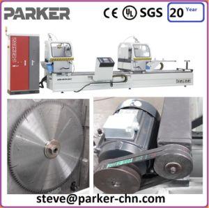 Aluminium CNC Double Head Cutting Machine pictures & photos