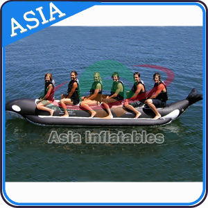 Exciting PVC Fly Fishing Boats Banana for 6 Person pictures & photos