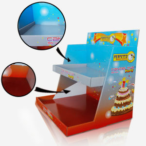 POS Cardboard Countertop Display for Birthday Candle, Paperboard Coutertop Display pictures & photos