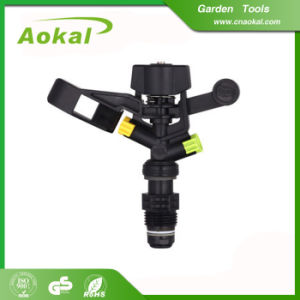 "Garden Tools Sprinkler Irrigation Water 1/2"" Plastic Impulse Sprinkler pictures & photos"