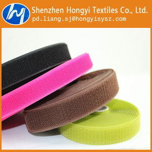 Reusable Non-Brushed Loop Hook&Loop Fastener Tape pictures & photos