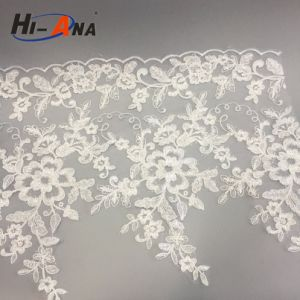 Familiar in OEM and ODM Good Price Lace Embroidery Fabric pictures & photos