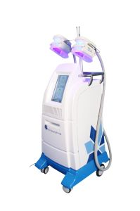 4 Handles Vacuum Cool Sculpting Double Chin Removal Cryolipolysis Machine pictures & photos