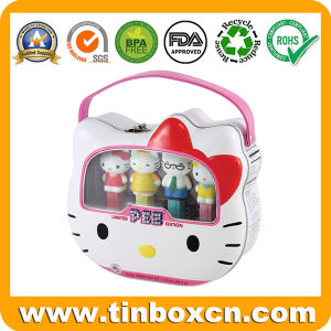 Kids Toys PVC Window Tin Box for Gift Storage Container pictures & photos