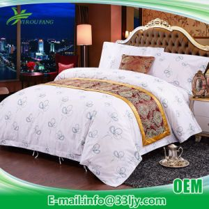 China Wholesale Cotton Bed Sheet for Motel pictures & photos