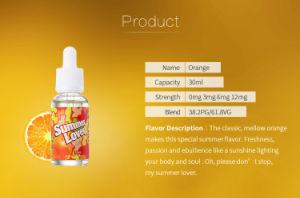 Healthy Original Food Additives Concentrate E Liquid OEM Factory 10ml Orange Flavor pictures & photos
