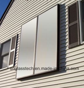 3.2mm Low Iron Tempered Solar Glass Toughened Flat Plate Collector Geysers Glass pictures & photos