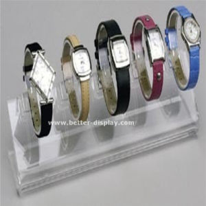 Clear Plastic Acrylic Watch Strap Display Case pictures & photos