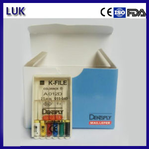 High Quality Dentsply Maillefer Dental Steel Files (CE certificate) pictures & photos