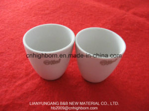 Refractory Glazing Porcelain Crucible for Laboratory pictures & photos
