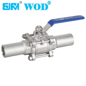 Long Pipe Extended-Tube Ball Valve pictures & photos
