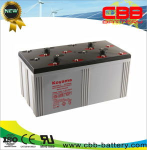 2V 3000ah Solar & Wind Power System Lead Acid Battery pictures & photos