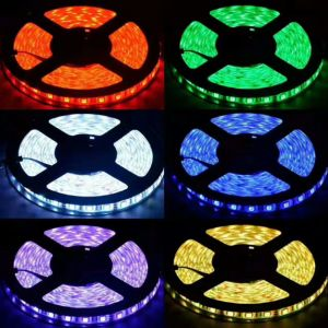 Red/Yellow/Blue/Green/White 5050SMD LED Strip Light pictures & photos